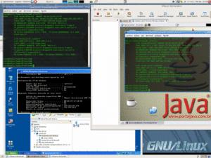 Varias máquinas virtuales VMWare corriendo a la vez