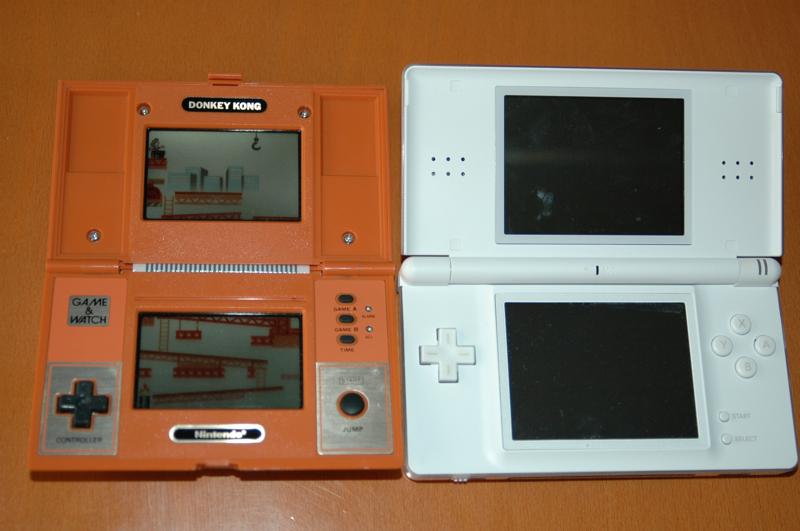 DS Lite y Game & Watch