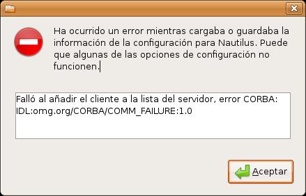 Un error de actualización de Ubuntu