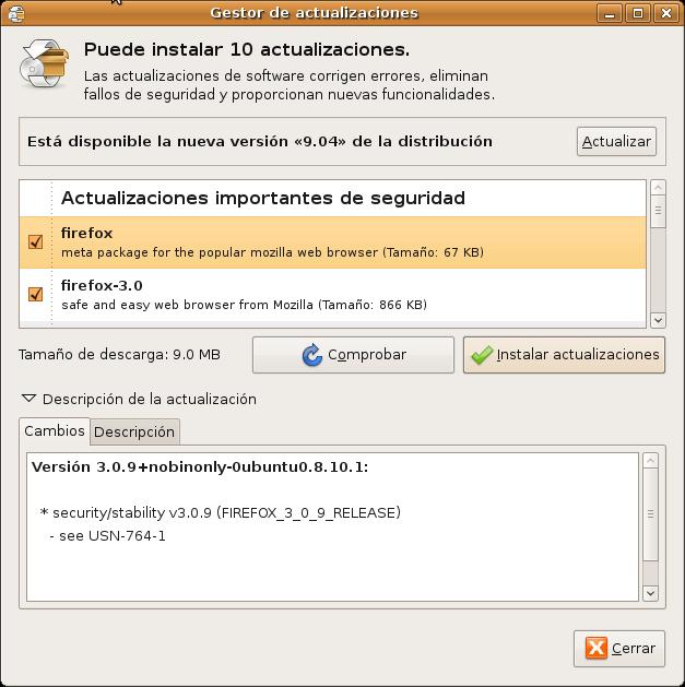 Ubuntu 9.04 disponible