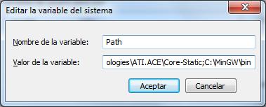 Configurando PATH