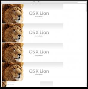 Lion atascado en la Mac App Store