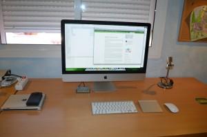 Mi mesa de trabajo