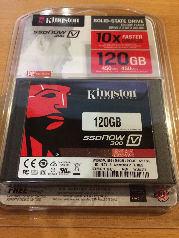 Kinsgston SSD
